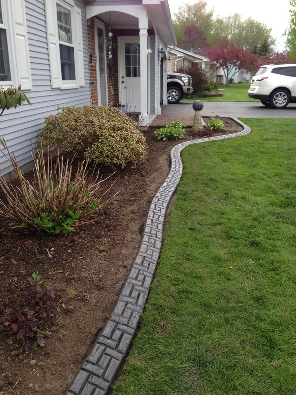 colors for curbing the process cadre curbing landscape edging concrete curbing